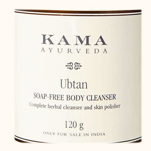 Kama Ayurveda Ubtan Soap free Body Cleanser  with Turmeric, Almond