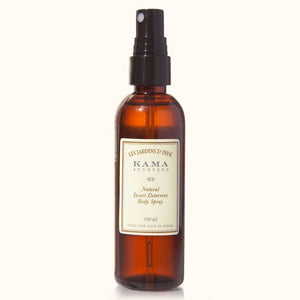 100% natural Kama Ayurveda Natural Insect Deterrent Body Spray