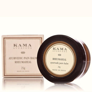 Kama Ayurveda Rheumaheal Pain Balm - Relieves muscle ache 25 Gms