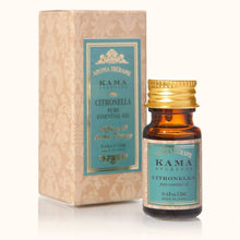 Kama Ayurveda Citronella Essential Oil -Balances mind and body