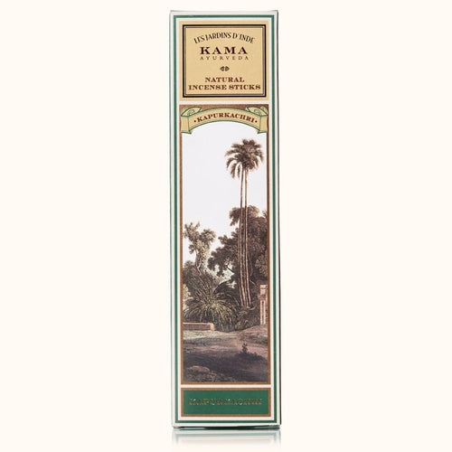 Kama Ayurveda Kapurkachri Incense Sticks - Enhances the mind