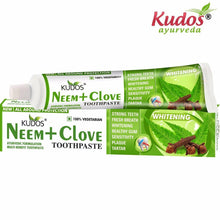 Kudos Neem+Clove Toothpaste-Removes tobacco-100Gms Available