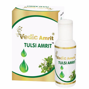 Kudos Vedic Amrit Tulsi Amrit Drop For Immunity & Also Treats respiratory - 15ML