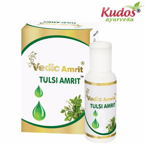 Kudos Vedic Amrit Tulsi Amrit Drop For Immunity & Also Treats respiratory - 15ML Available