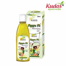 Kudos Figure Fit Slimming Oil - 100ml For Good Health