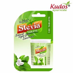 Kudos Stevia Tablets -Pure Natural Herbals -100 Tablets Available
