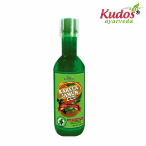 Kudos Karela Jamun Juice-500ml-Pure Natural Berbals Available