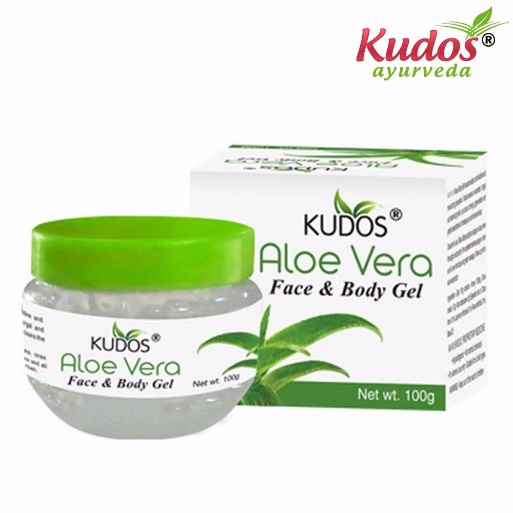 Pure Natural Kudos Aloe Vera Face & Body Gel 200gm Available