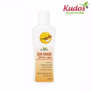Natural Kudos Ayuvedic Sun Shade SPF-30 Lotion - 100ml