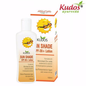 Natural Kudos Ayuvedic Sun Shade SPF-30 Lotion - 100ml Available