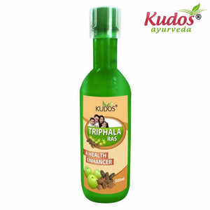 Kudos Triphala Ras - 100% Pure Natural Herbals-500ml Available