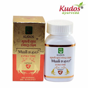 Pure Natural Kudos Musli Super Extra Time Capsules - 30 Capsules Available