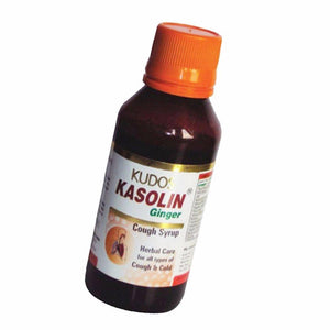 Kudos Kasolin Ginger Cough Syrup - 100ml