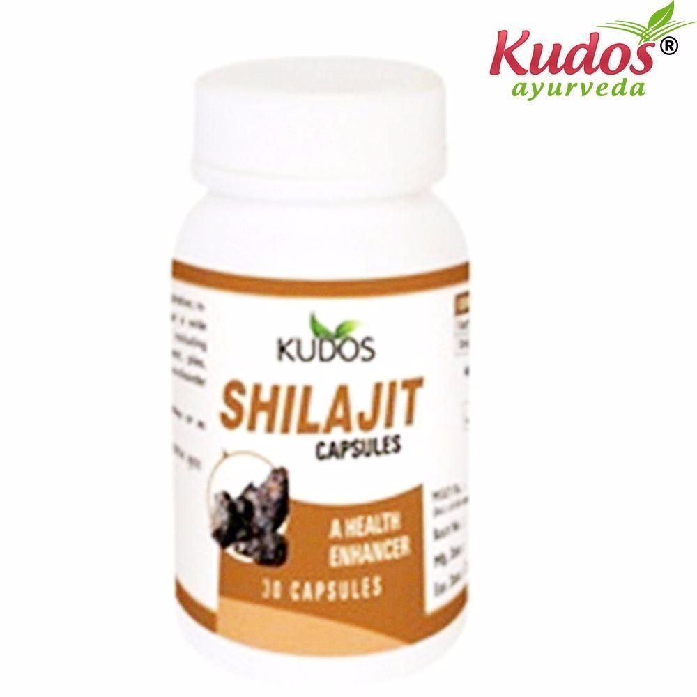Kudos Shilajit Capsules - 30 Capsules For Good Health Available