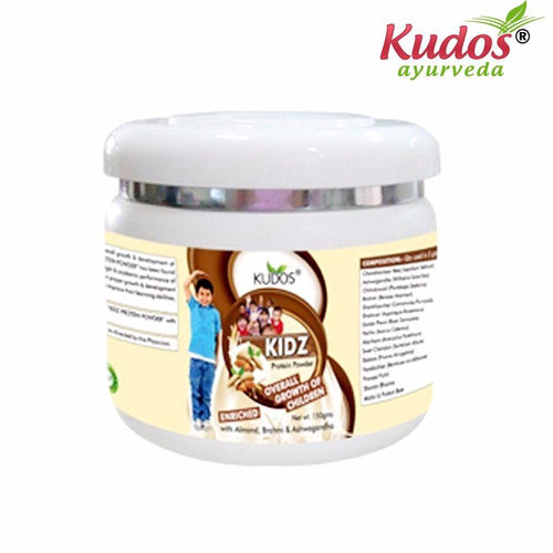 Kudos Kidz Protein Powder - 150gm- Pure Natural Ayurvedic - Healthcare Available