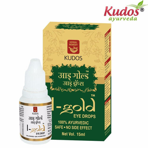 Kudos I-Gold Eye Drop For Eye Care -15ml Available