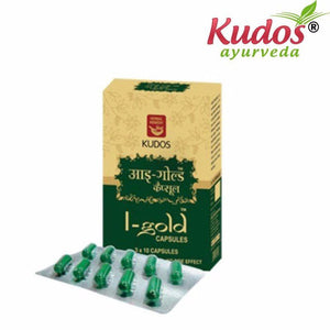 Kudos I-Gold Capsules For Health Care Available