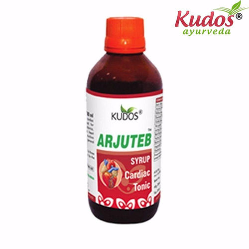 Kudos Arjuteb Syrup - 200ml- Pure Natural Ayurvedic - Healthcare Available