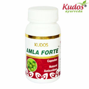 Kudos Amla Forte Capsules - 60 Capsules- Pure Natural Ayurvedic - Healthcare Available