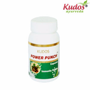 Kudos Power Punch Capsules - 60 Capsules- Available
