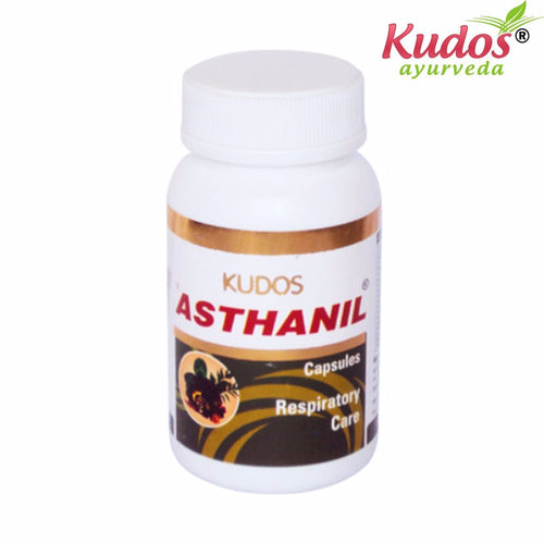 Kudos Asthanil Capsules Available In 60 Capsules Pack Available