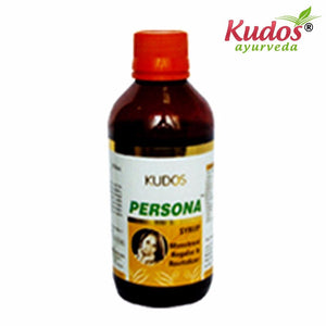 Kudos Persona Syrup Pure Natural Ayurvedic - Healthcare-200ml Available
