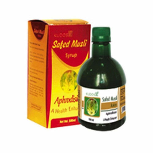 Kudos Safed Musli Juice- Pure Natural Ayurvedic - Healthcare Available