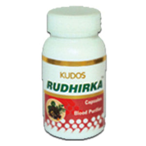 Kudos Rudhirka Capsules - 60 Capsules- Pure Natural Ayurvedic - Healthcare Available