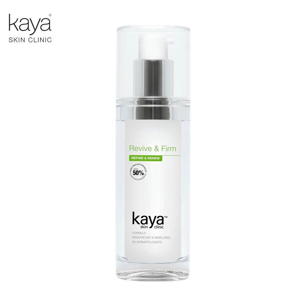 KAYA Revive And Firm -Cetylated Ester Wax, Small Peptides For All Skin -50ml Available