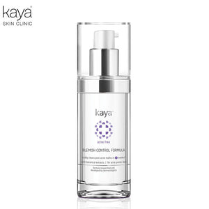 KAYA Blemish Control Formula-Aqua, Butylene Glycol, Peg For Acne Free Skin-30ml Available
