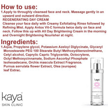 KAYA Brightening And Regenerating Day Cream For All Day - 50ml