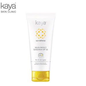 KAYA Youth Protect Sunscreeen + SPF 50 For All Skin Types -50ml Available