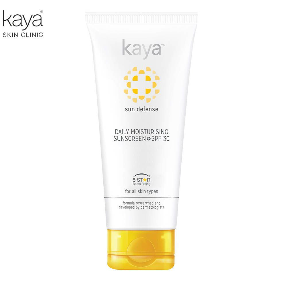 KAYA Daily Moisturizing Sunscreen Spf 30 - All Skin Type - 75ml Available