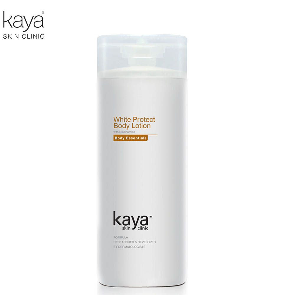 KAYA White Protect Body Lotion -niacinamide, Imperita Cylidrica-200ml Available