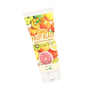 Lass Naturals Fruit Blast Face Wash Fruit Nutrients Keep The Skin Supple & Soft