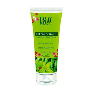 Lass Naturals Herbal Neem & Basil Face Wash For All Skin Type 100gm Available