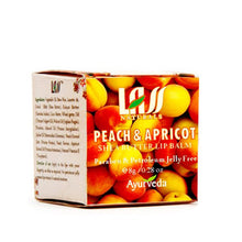 Lass Naturals Peach & Apricot Lip Balm 8Gm For Moisturize & Hydrates Lips