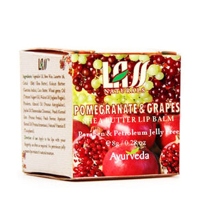 Lass Naturals Pomegranate & Grapes Lip Balm For Protect Lips