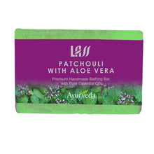 Lass Naturals Patchouli And Aloe Vera Soap-Premium Handmade Bathing Bar Available