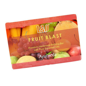 Lass Naturals Fruit Blast Soap 125GM For Youthful & Healthy