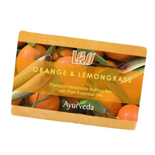 Lass Naturals Orange And Lemongrass Soap 125gm For All Skin Type