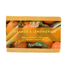 Lass Naturals Orange And Lemongrass Soap 125gm For All Skin Type Available