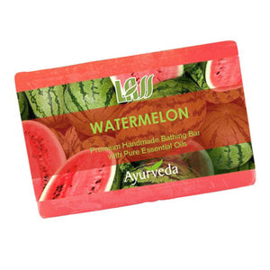 Lass Naturals Watermelon Soap For All Type  Skin 125Gm