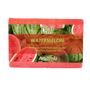 Lass Naturals Watermelon Soap For All Type  Skin 125Gm Available