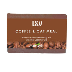 Lass Naturals Coffee & Oat  Meal Soap Lightens pigmentation & skin tone Available
