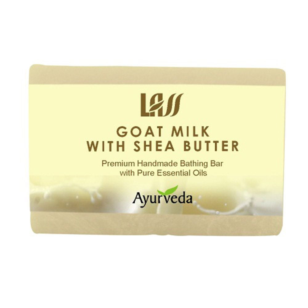 Lass Naturals Goat Milk With Shea Butter Soap-A Luxurious Soap That Is Nourishin Available