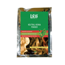 Lass Naturals Neutral Henna Powder 100GM For Hair Fall,Thinning Of Hair Available