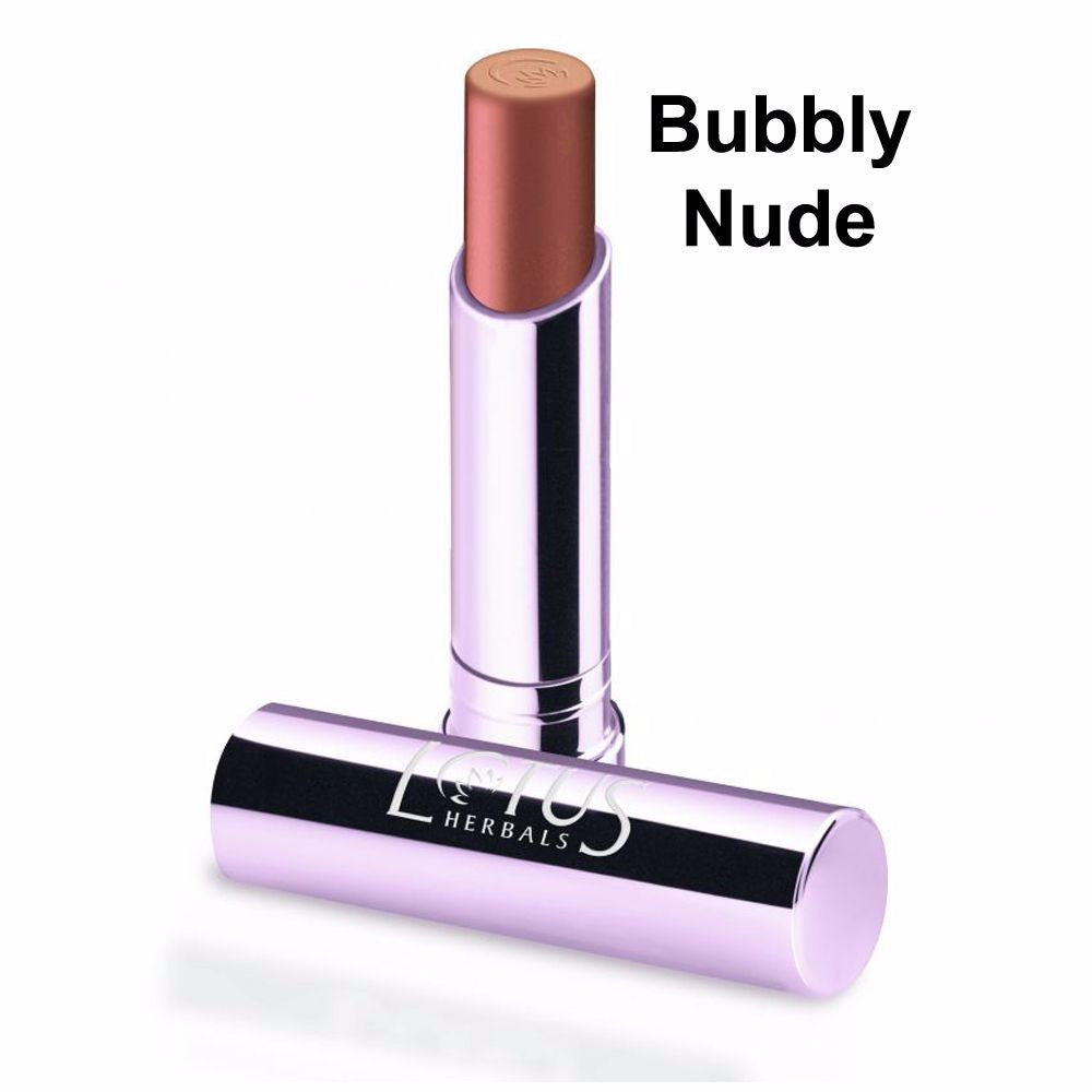 Lotus Herbals Ecostay Lip Colour-4.2gm- Bubbly Nude-435