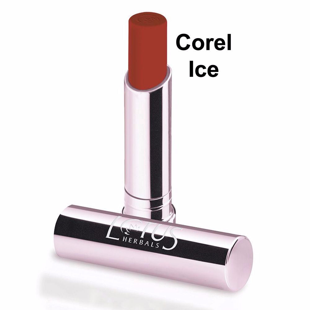 Lotus Herbals Ecostay Lip Colour-4.2gm- Coral Ice