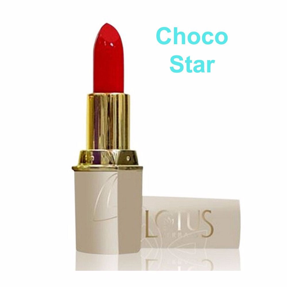 Lotus Herbals Pure Colors Lip Color-All Shade(All Skin Types) For Women- Choco Star-671